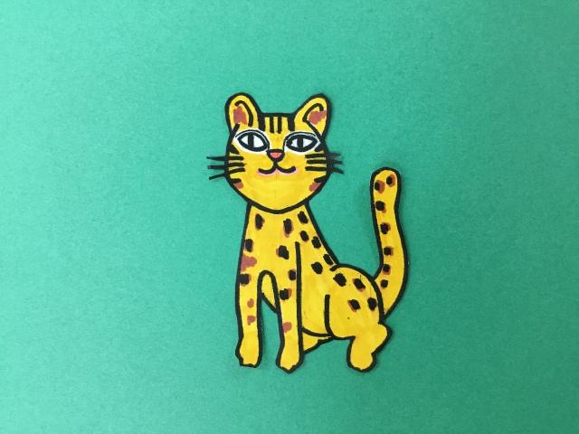 ロゴマークのネコちゃん 西表島ジャングルブック通信