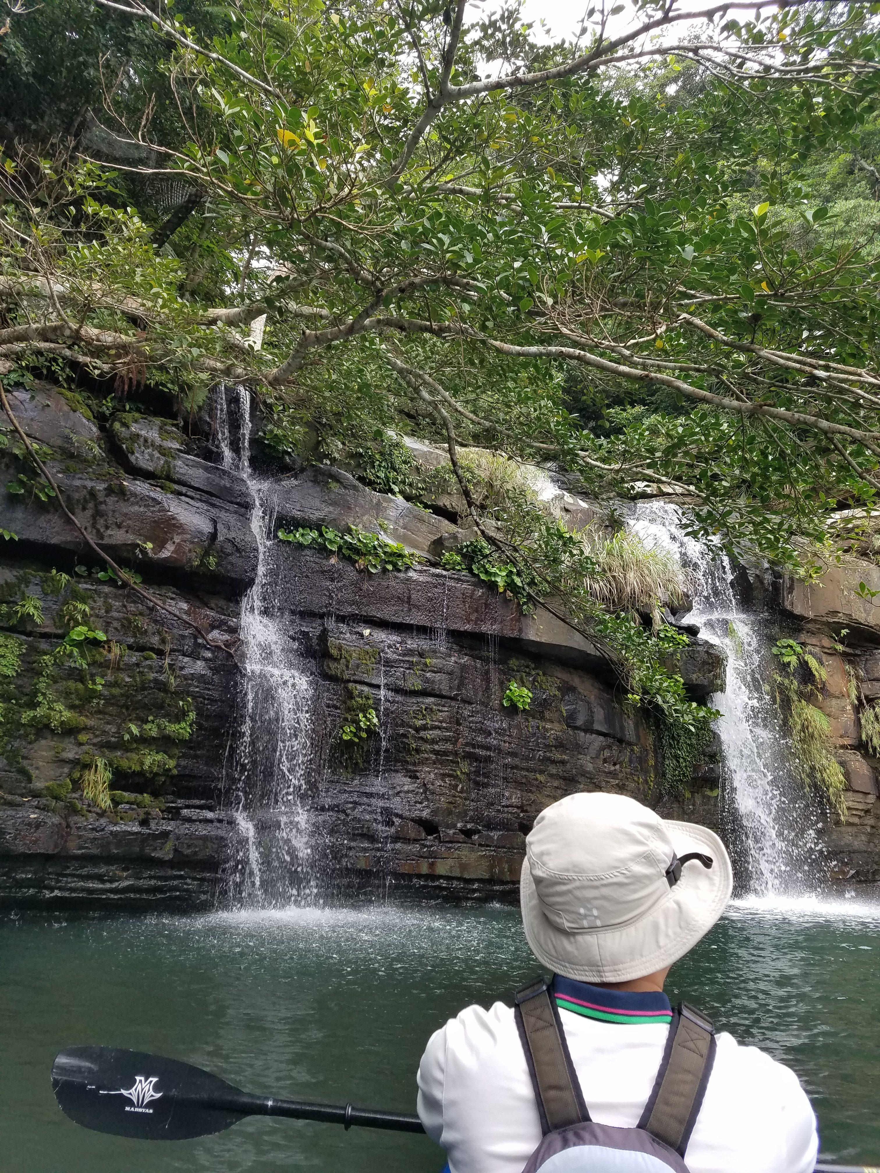 水落の滝シーカヤックツアー