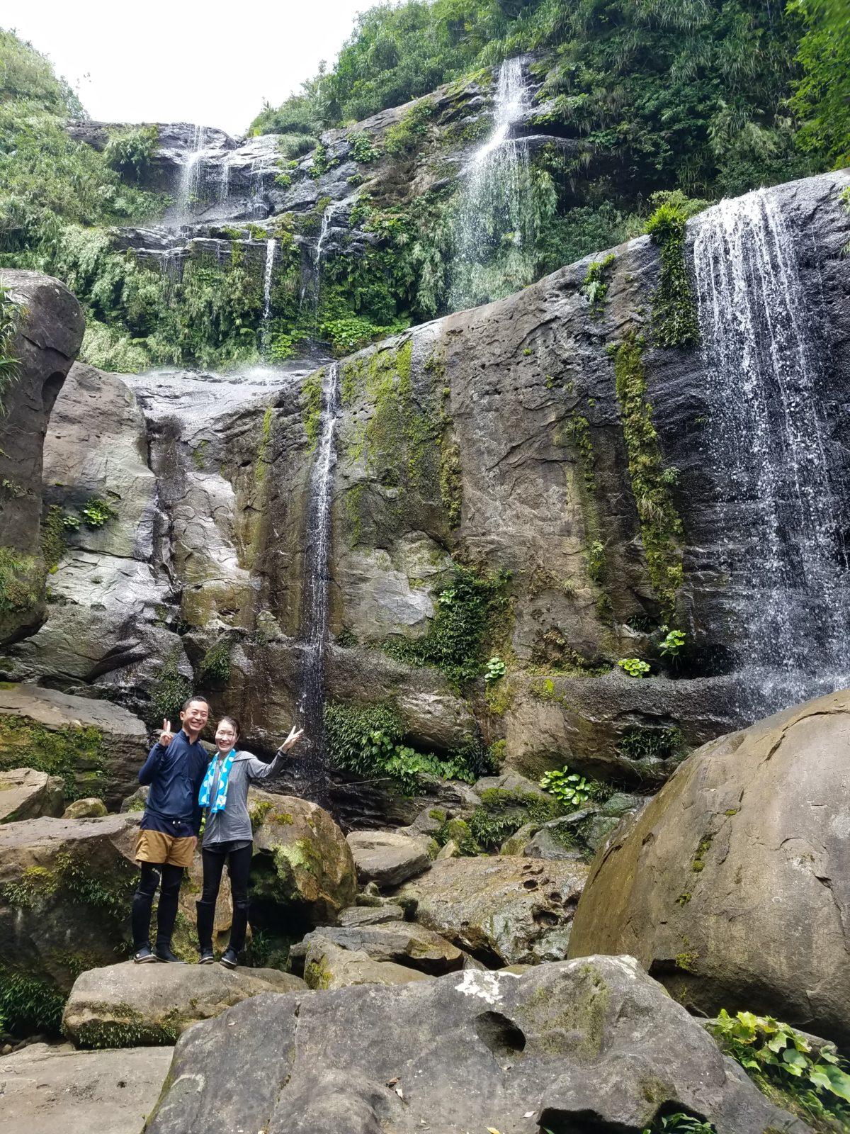 ユツンの三段滝トレッキング